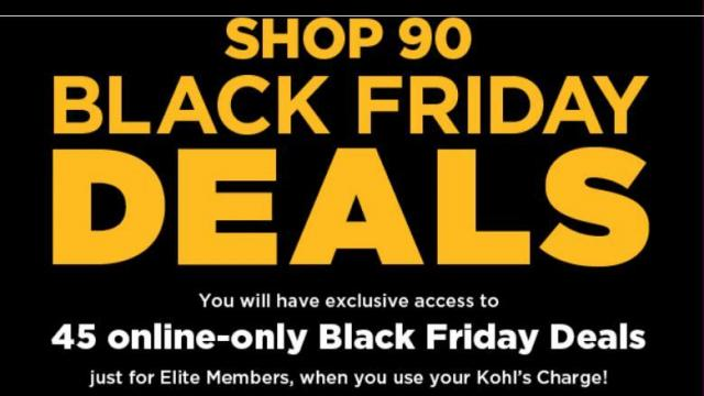 2f4efac02742 Kohl s  Select early Black Friday deals Thursday + 20% off code + ...