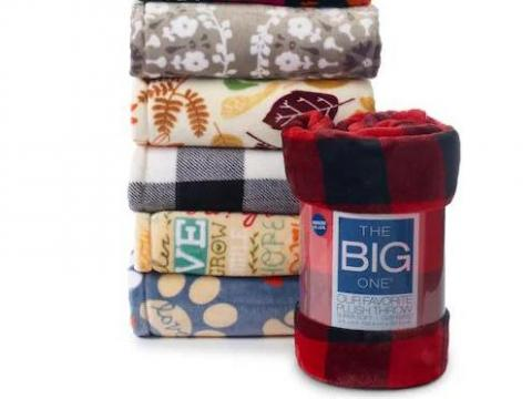 edbcdb10b11 The Big One Supersoft Plush Throw only  7.19 (reg.  39.99) +  15 Kohl s Cash  TODAY!    WRAL.com