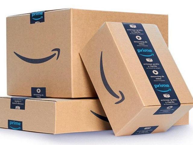 Amazon shipping boxes (photo courtesy Amazon)