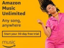 Amazon Music Unlimited Free Trial
