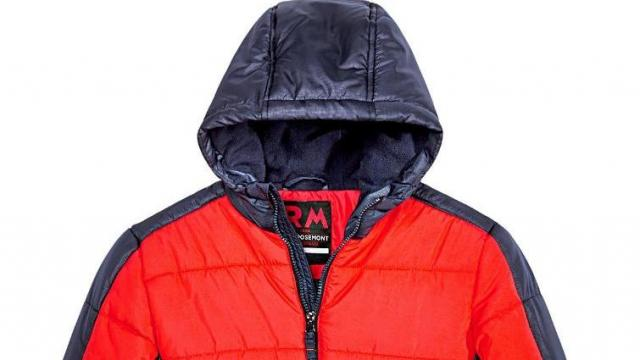 661ec41a9 Macy's Big Boys Branson Colorblocked Hooded Jacket (photo courtesy Amazon). Black  Friday Special: Kids puffer jackets and coats are only $15.99 ...