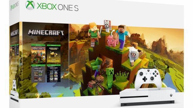 DEAL ALERT! Microsoft Xbox One S 1TB Minecraft Creators Bundle only ...