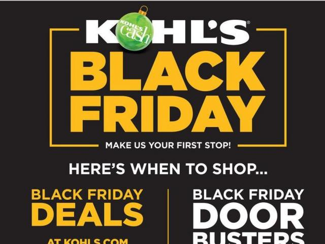 7ae920597eadd KOHL S  15 Kohl s Cash offer   Black Friday sales end at 1 00 am!     WRAL.com