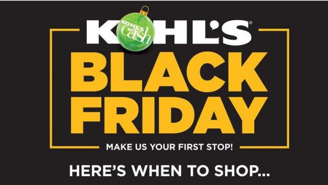 94a3cfde32 Kohl's Black Friday deals online NOW! :: WRAL.com