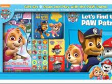Paw Patrol Read and Play Gift Set