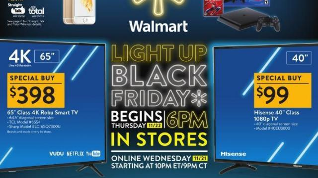 Walmart Black Friday Online Deals Are Live Now Wral Com
