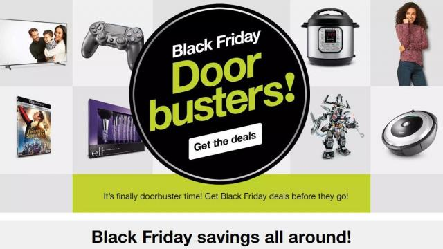 9153fa0fcab Target Black Friday live NOW with Doorbusters!    WRAL.com