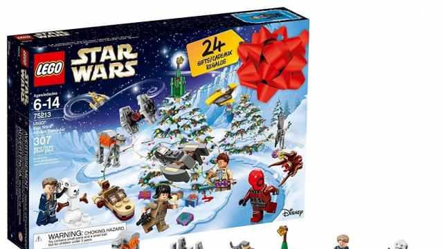 Lego Star Wars Advent Christmas Countdown Calendar Photo Courtesy