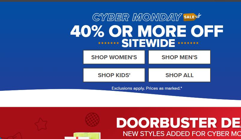 Crocs Shoes Cyber Monday: 40% off or