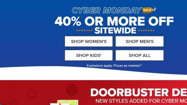 5dd014483d2b Crocs Cyber Monday Sale (pohoto courtesy Crocs) · Crocs Shoes is offering  some ...