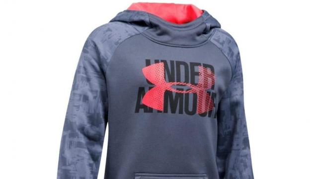 4ce81ee23 Under Armour Girls' Armour Fleece Big Logo Printed Hoodie (photo courtesy  Amazon)