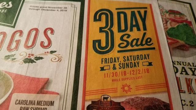 Lowes Foods 3-Day Sale: Baby back ribs, Kellogg's cereal, Utz chips