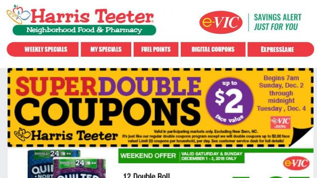 photo relating to Printable Gold Card Application Harris County known as Harris Teeter Tremendous Doubles begins At present ::