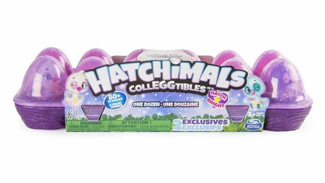 Hatchimals CollEGGtibles 12Pack Egg Carton with Exclusive Season 4 Hatchimals CollEGGtibles (photo courtesy Amazon)