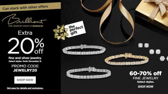 Kohl's Jewelry Coupon and Sale (photo courtesy Kohl's)