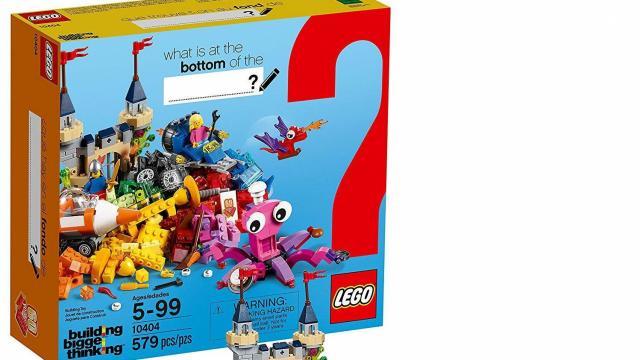 LEGO Classic Ocean's Bottom Building Kit (photo courtesy Amazon)