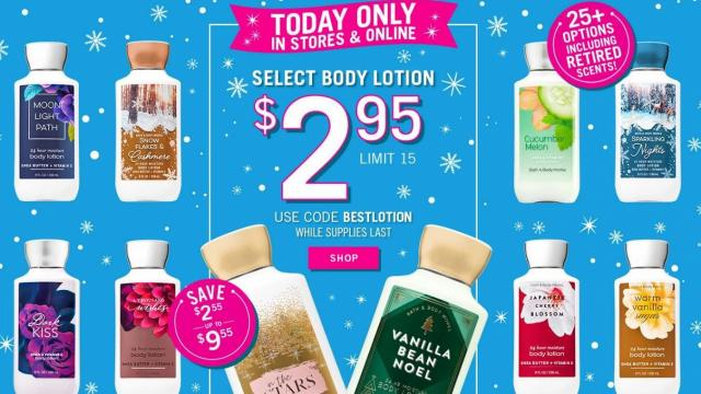 About Top Offers from Bath & Body Works