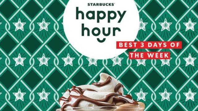 Starbucks: BOGO hot chocolate or espresso drinks Sunday