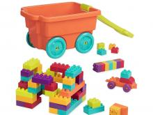 Battat Wagon and Building Toy Blocks for Toddlers