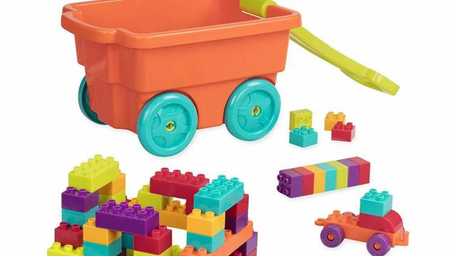 Battat Wagon and Building Toy Blocks for Toddlers (photo courtesy Amazon)