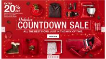 IMAGES: Macy's Holiday Countdown sale through Monday