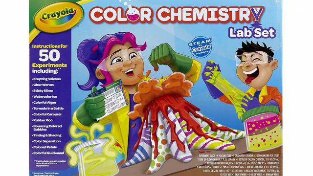 Crayola Color Chemistry Set for Kids (photo courtesy Amazon)