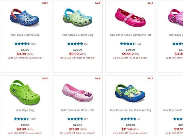 d1c6ff18b Crocs Shoes  Clearance sale with shoes as low as  6.99 through TODAY     WRAL.com