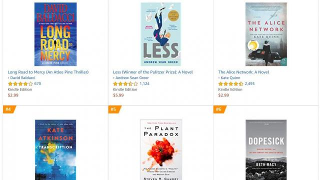 Kindle New York Times Best Sellers up to 80% off TODAY