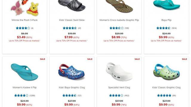 Crocs Shoes: up to 70% off clearance