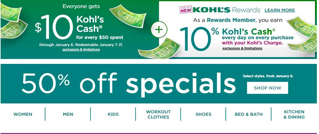 Kohl S 10 Kohl S Cash 70 Off Clearance Wral Com