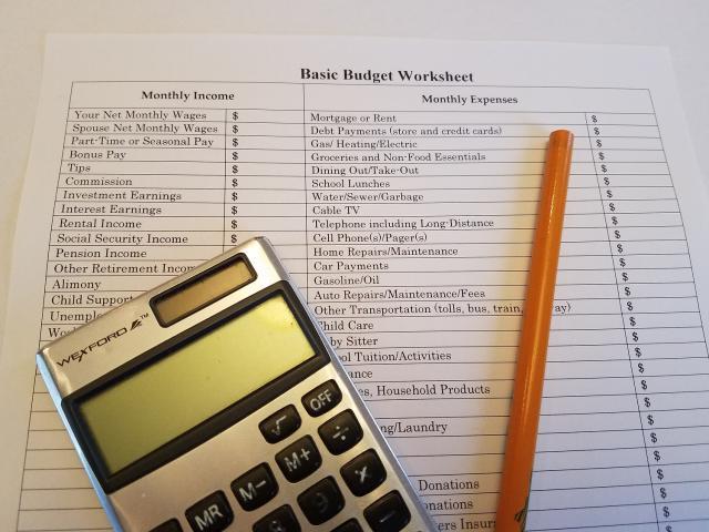 Basic Budget Worksheet
