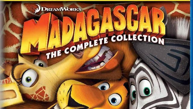 Madagascar Complete Collection 1-3 (photo courtesy Amazon)