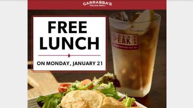 photograph regarding Carrabba's Printable Menu known as Carrabbas Italian Grill: BOGO lunch entrée provide upon Monday