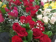 Roses at store