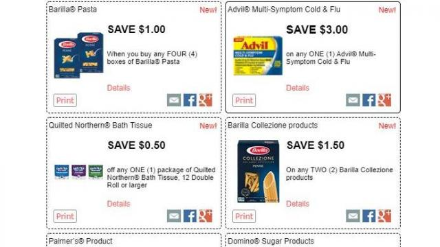 image relating to Red Bull Printable Coupons identify Refreshing Barilla pasta printable coupon codes ::