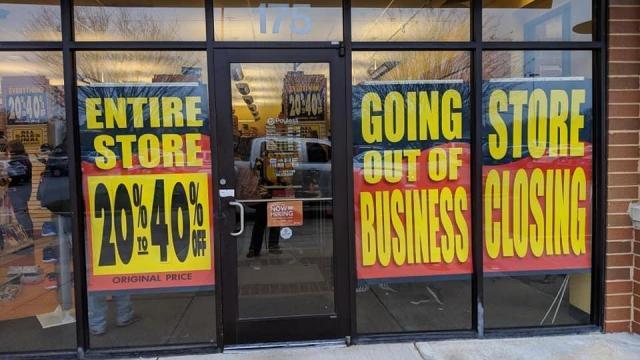 f94fe3b5a86 Payless liquidation sale in Garner