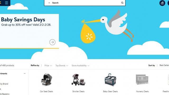 Walmart Baby Savings Sale through Feb  28 :: WRAL com