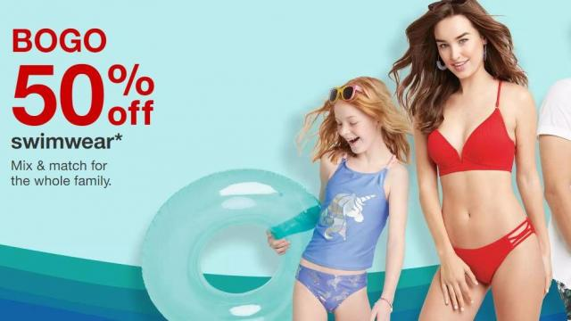 3f5fea2bcecf0 Target Swim Sale (photo courtesy Target). Swimwear ...