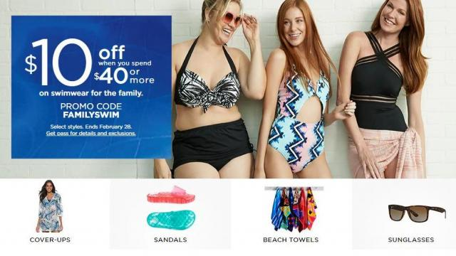 85eed445e01 Kohl's: New 20% off coupon + $10 off swimwear coupon :: WRAL.com