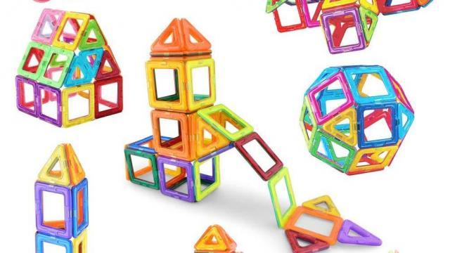 Magnetic Tiles Building Blocks Set Photo Courtesy