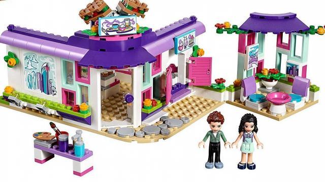 Lego Friends Emmas Art Café Building Set Only 2140 Reg 3299
