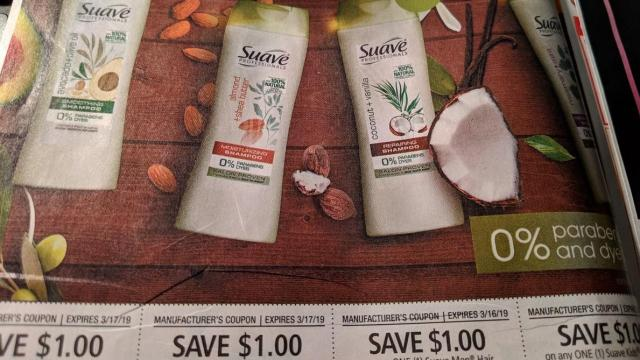 picture about Printable Suave Coupons named Tremendous Doubles promotions with clean Sunday coupon codes ::