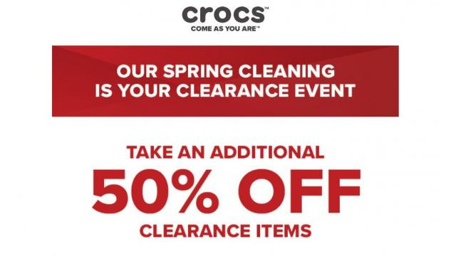 129ff5758 Crocs Shoes  50% off Semi-Annual Clearance Event through 3 14 ...