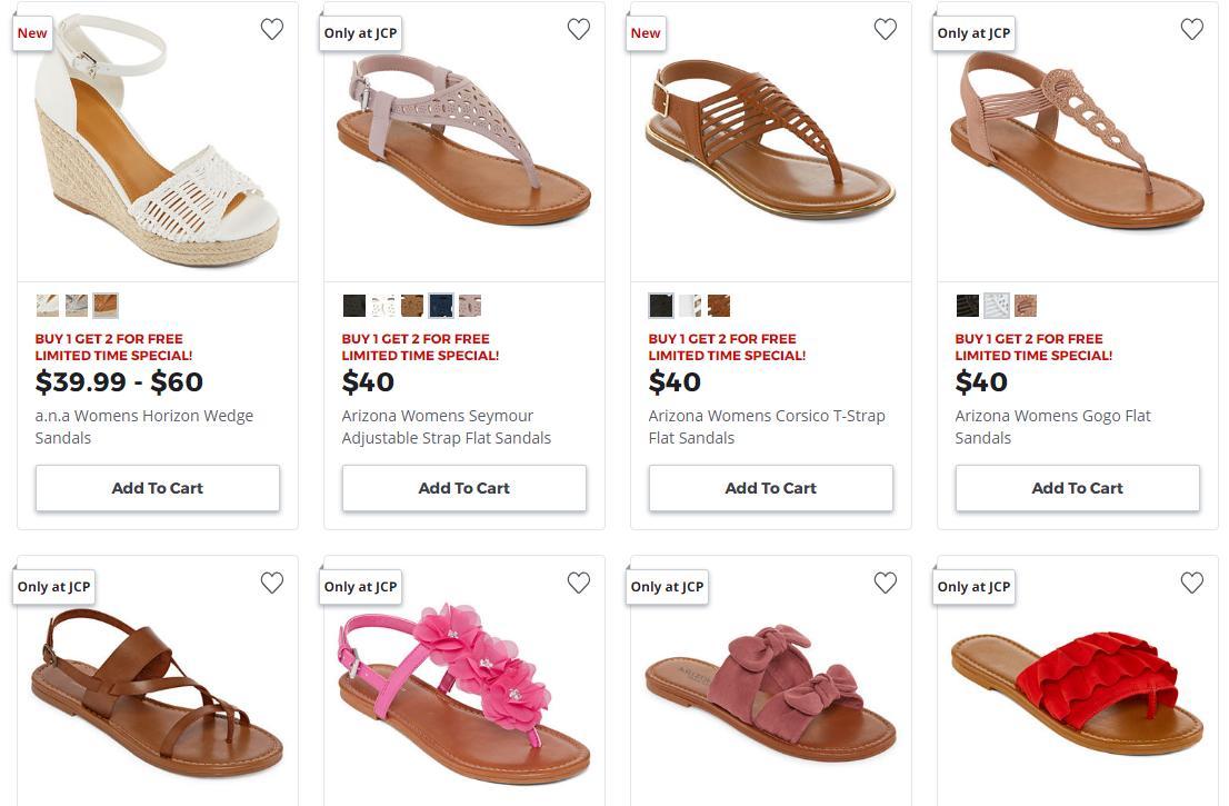 HOT Women's Sandals deal at JCPenney