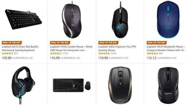 1c851d471b6 Logitech PC Headphones, Mice, Keyboards up to 67% off Friday :: WRAL.com