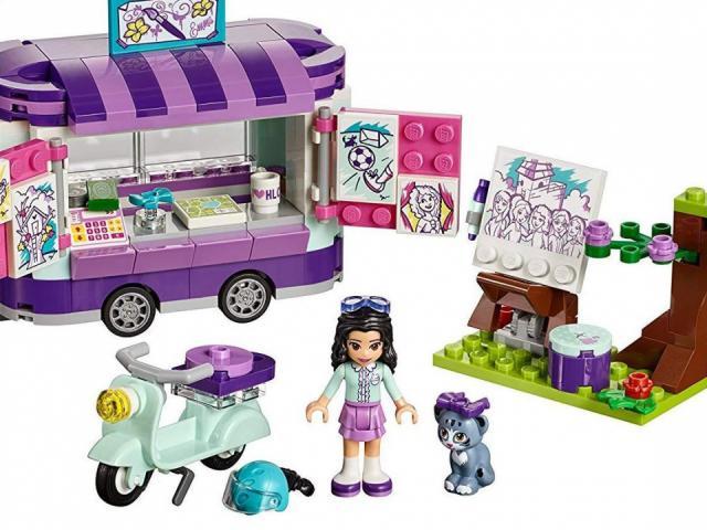 Lego Friends Emmas Art Stand Building Set Only 1299 Wralcom