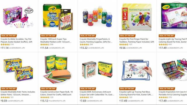 I Sent My Grouchy Email To Amazon Today >> Crayola Arts Crafts Up To 63 Off Starting At 5 98 Wral Com