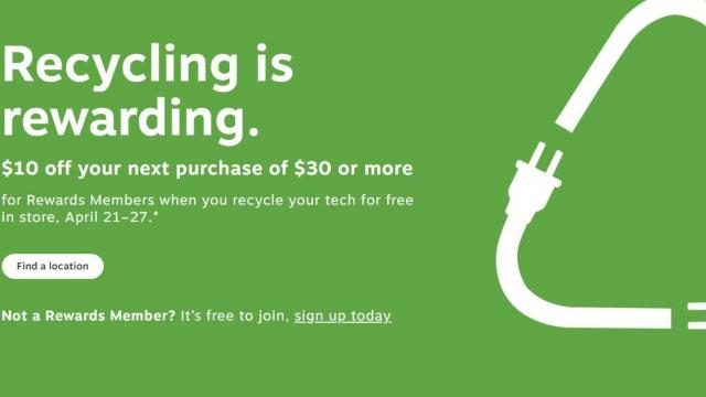 Staples Recycling Offer (photo courtesy Staples)