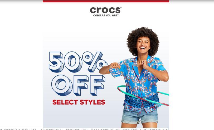 4b126f3ba Crocs Shoes 48 Hour Sale  50% off select shoes through TODAY    WRAL.com