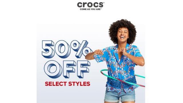 2635846c3 Crocs Shoes 48 Hour Sale  50% off select shoes through TODAY    WRAL.com